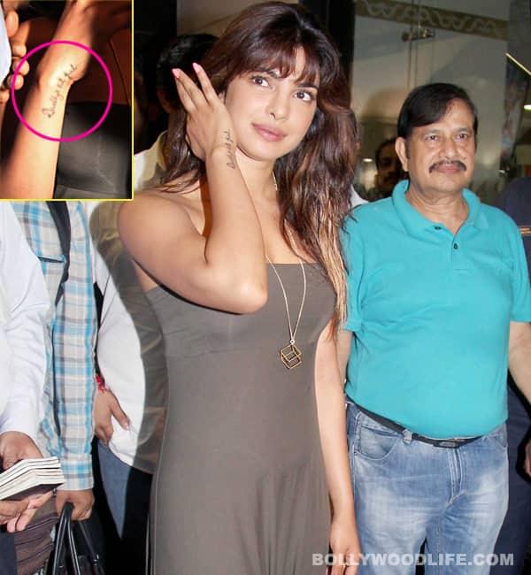 Priyanka Chopra flaunts her brand newtattoo!