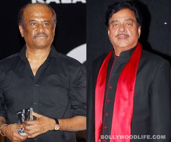 Rajinikanth gives Shatrughan Sinha health tips