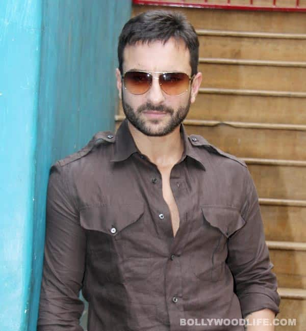 Saif Ali Khan: Learning to act!