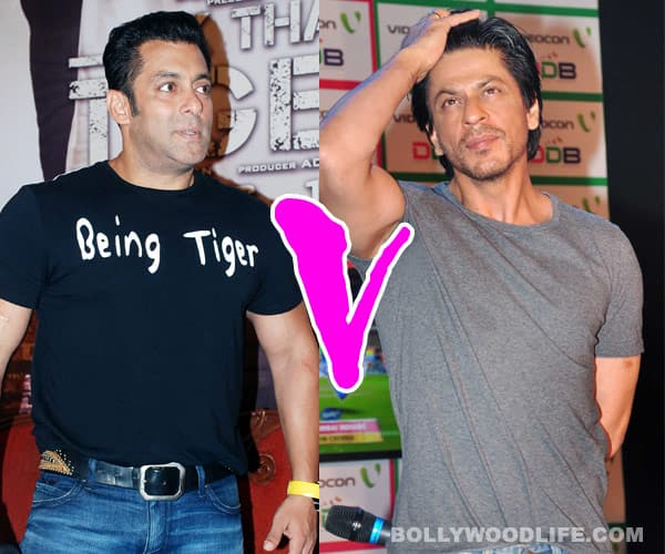 Will the success of Salman Khan's 'Ek Tha Tiger' put pressure on Shahrukh Khan?