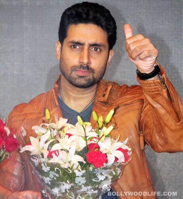 Is Abhishek Bachchan too lazy to lose weight?
