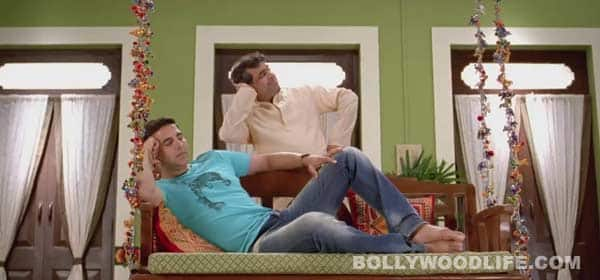 Oh My God song Mere nishan: Akshay Kumar plays Jim Carrey