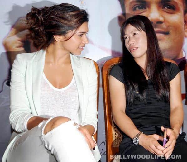 Deepika Padukone meets Olympics winners
