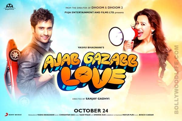 Why did Vashu Bhagnani launch just one song from 'Ajab Gazabb Love'?