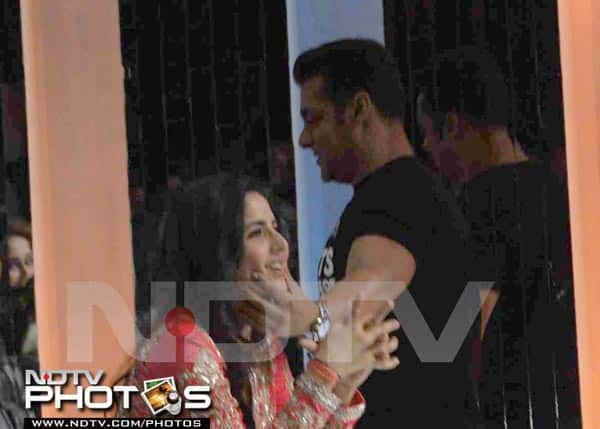 Why did Salman Khan openly cuddle Katrina Kaif?