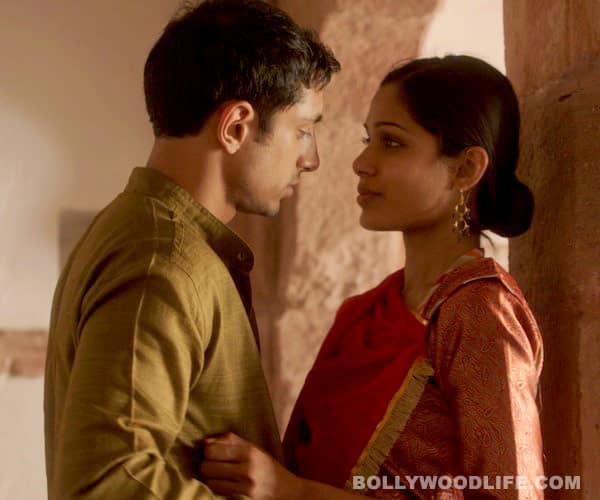 Freida Pinto doesn't want India to see her sex scenes in Trishna!
