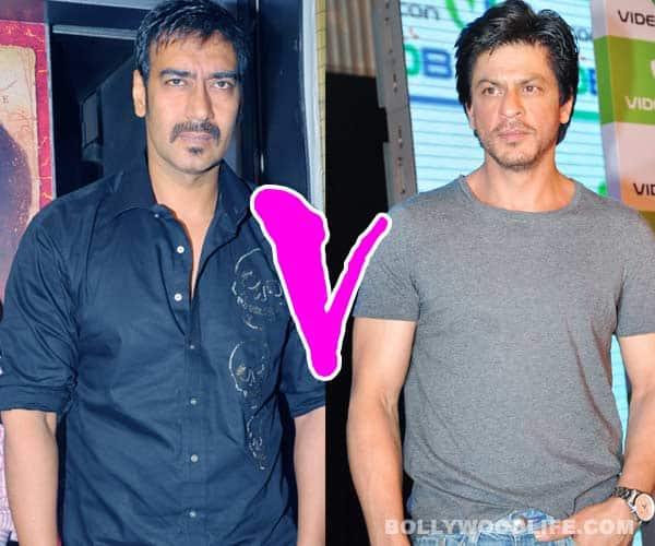 Shahrukh Khan vs Ajay Devgn: The battle is on!