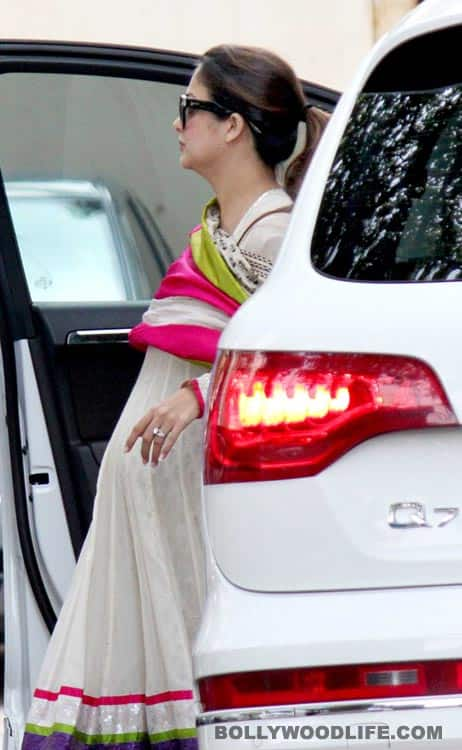 Amrita Arora shows off her baby bump!