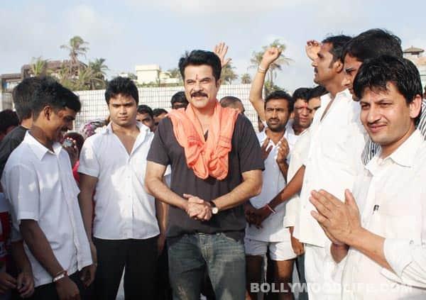 Salman Khan, Hrithik Roshan, Anil Kapoor, Shilpa Shetty, Preity Zinta do Ganpati visarjan