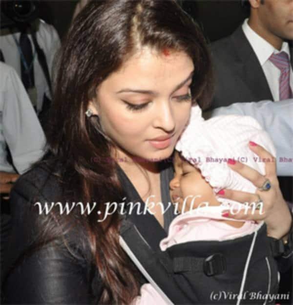 Beti B Aaradhya looks like Papa AbhishekBachchan!