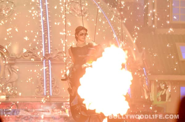 Priyanka Chopra vrooms in on a superbike at the BIG Star Young Entertainment Awards!