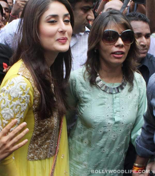 Kareena Kapoor mobbed at Siddhivinayak Temple during Heroine promotions