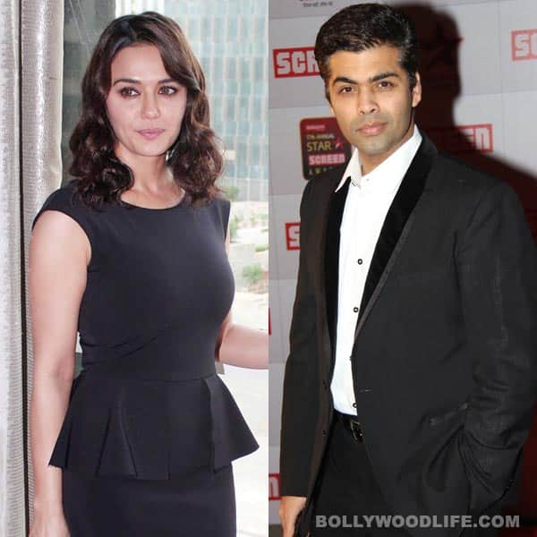 Karan Johar is Preity Zinta's new advisor!