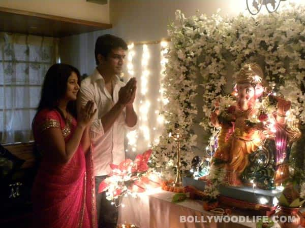 TV stars celebrate Ganesh festival!