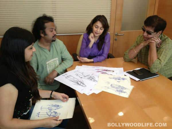 Madhuri Dixit-Nene begins work on Gulab Gang