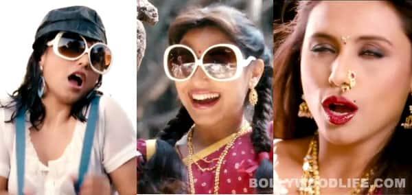 Rani Mukerji apes Sridevi, Madhuri Dixit and Juhi Chawla in Aiyyaa