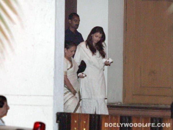 Yash Chopra chautha pics: Shahrukh Khan, Amitabh Bachchan, Aishwarya Rai Bachchan attend!