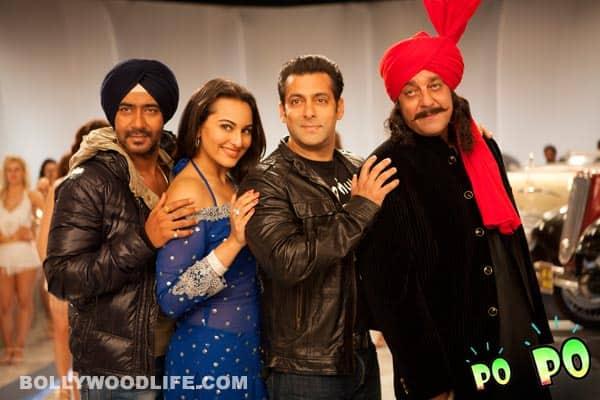 SON OF SARDAAR full song Po po: Salman Khan, Ajay Devgn, Sanjay Dutt praise SonakshiSinha