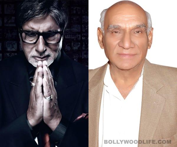 Amitabh Bachchan's ode to Yash Chopra