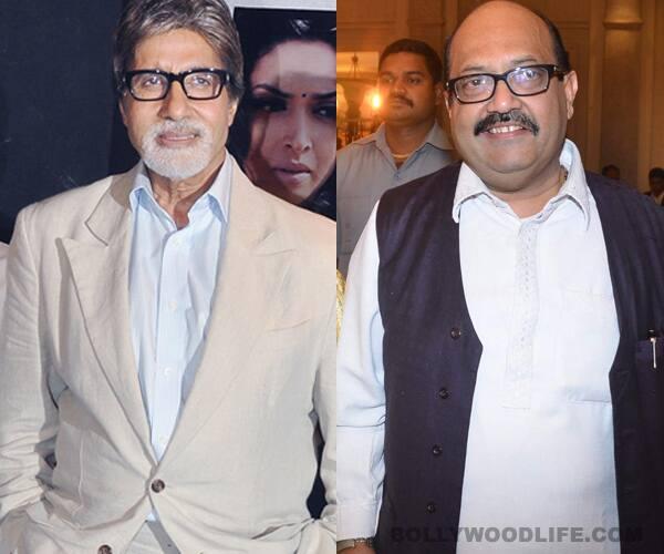 Amar Singh takes a dig at Amitabh Bachchan!