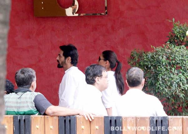 Yash Chopra funeral pics: Rekha, Kajol, Imran Khan, Arjun Rampal, Tabu offer condolences