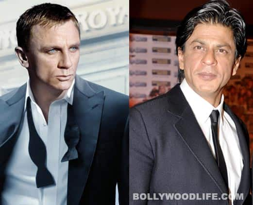 James Bond Daniel Craig says sorry to Shahrukh Khan!
