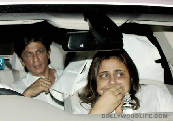 What did Shahrukh Khan say at Yash Chopra's chautha?