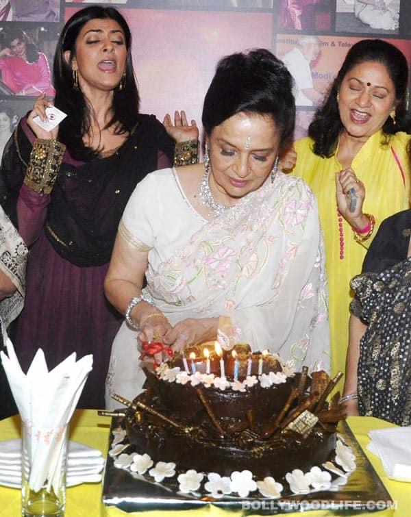Pics: Amitabh Bachchan, Madhuri Dixit-Nene, Asha Bhosle, Yash Chopra at Asha Parekh's 70th birthday bash