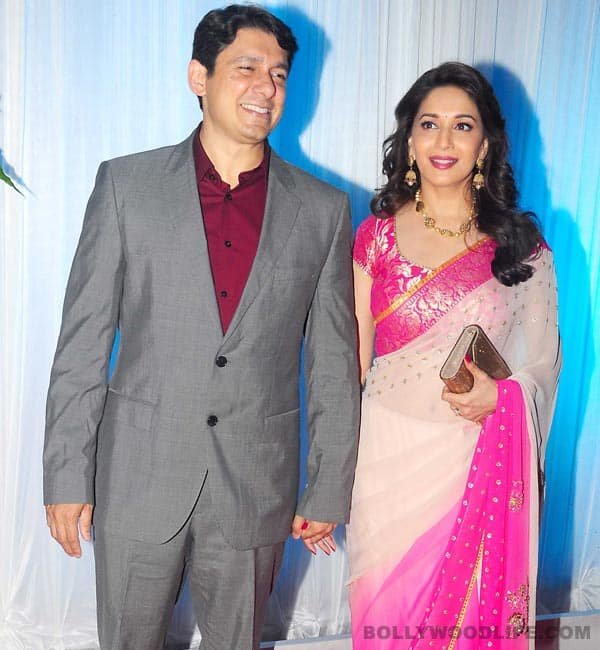 Madhuri Dixit-Shriram Nene celebrate their 12th wedding anniversary today!