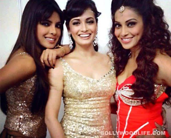 Priyanka Chopra, Bipasha Basu and Dia Mirza hang out inJakarta