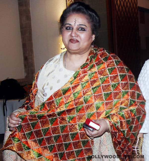Is that yesteryear actor Reena Roy?