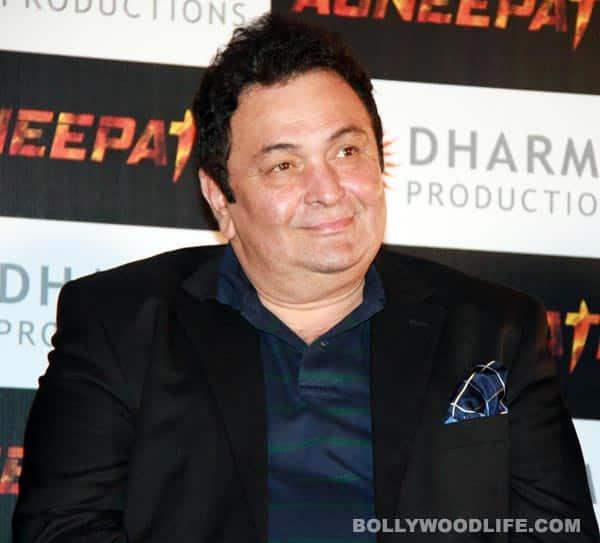 Rishi Kapoor praises his son RanbirKapoor