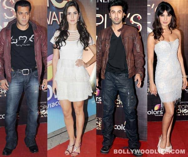 People's Choice Awards 2012: Salman Khan, Katrina Kaif, Ranbir Kapoor, Kareena Kapoor, Amitabh Bachchan attend