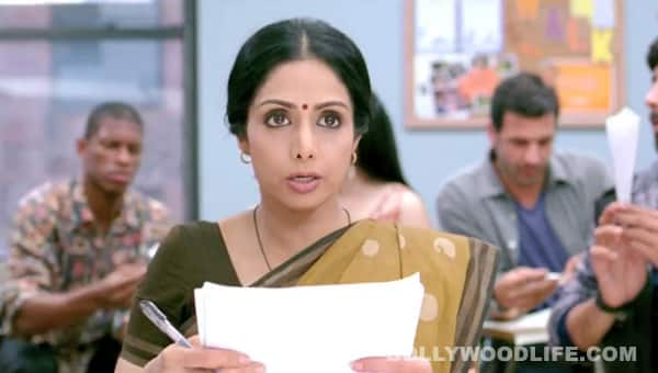 Sridevi learns English slowly slowly!