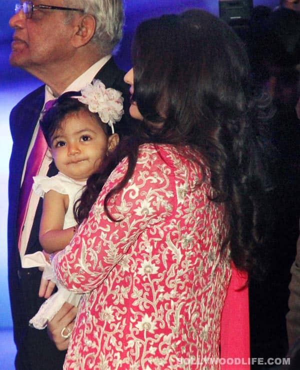 Aishwarya Rai Bachchan's birthday pics: Baby Aaradhya's media debut!