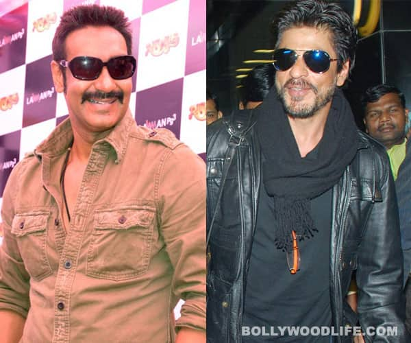Shahrukh Khan- Ajay Devgn: All is well!