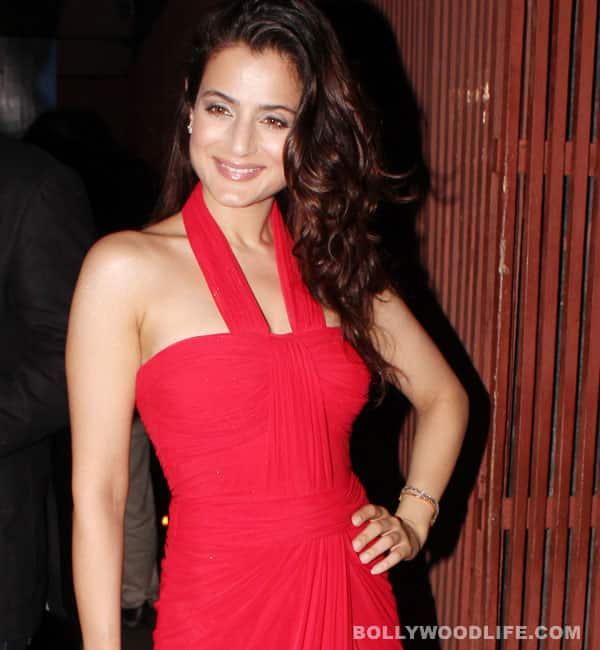 Why is Ameesha Patel perfect for the role of a bimbette?