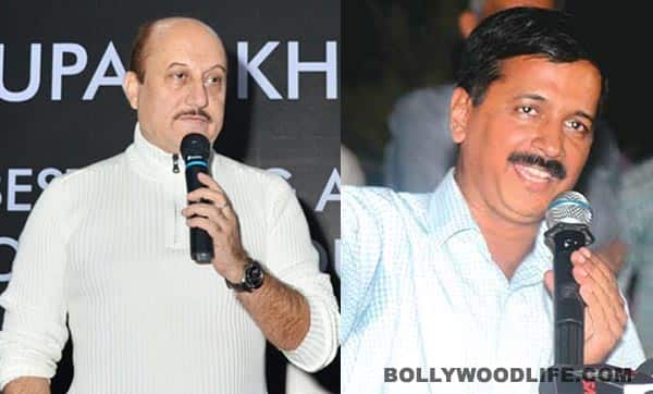 Anupam Kher slams Aam Aadmi Party head Arvind Kejriwal