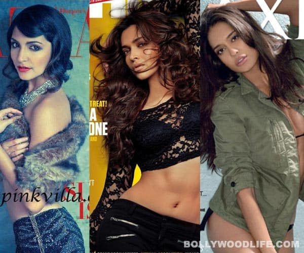Anushka Sharma, Deepika Padukone, Lisa Haydon – who is the most dazzling cover girl of the month?