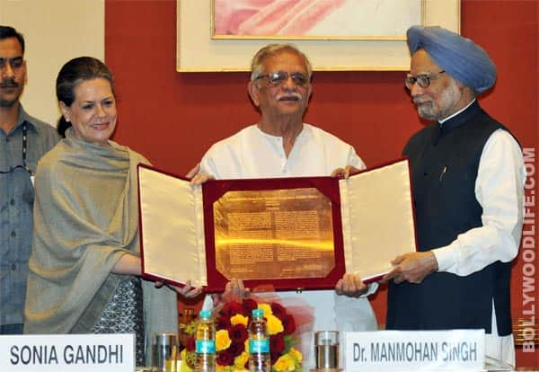 Gulzar honoured with Indira Gandhi National Integration Award