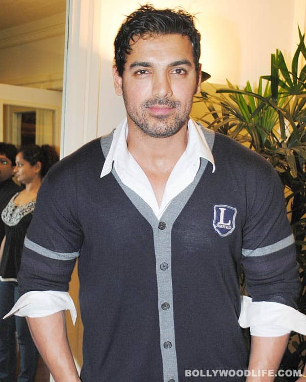 John Abraham wants to be a certified fitness trainer