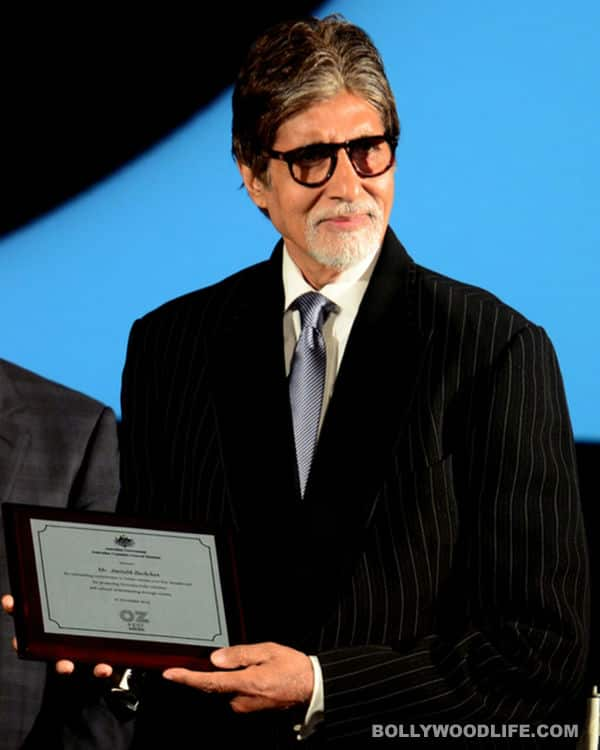 Amitabh Bachchan on Australian honour: I'm most humbled