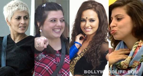 Hottest babe of Bigg Boss 6: Sana Khan, Karishma Kotak or Mink Brar?