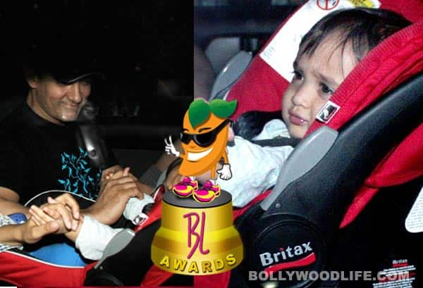 Aamir Khan's son Azad voted cutest baby of the year: BollywoodLife Awards 2012
