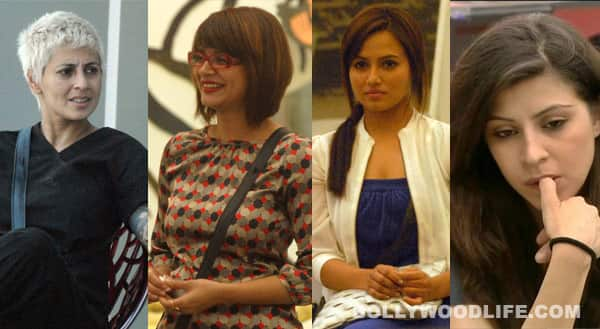 Bigg Boss 6 nominations: Aashka Goradia, Sapna Bhavnani, Sana Khan, Karishma Kotak – who will you save?