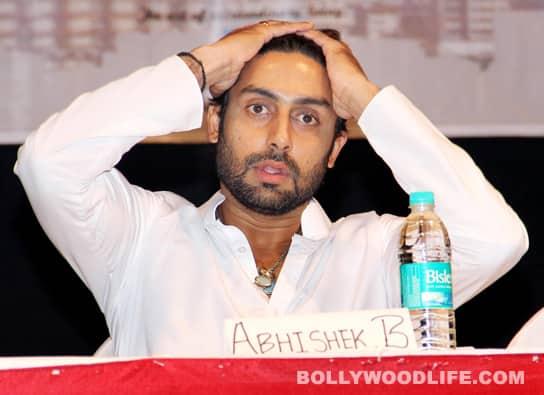 What annoyed Abhishek Bachchan?