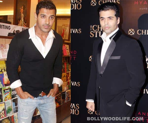 John Abraham calls Karan Johar the agony aunt of Bollywood!