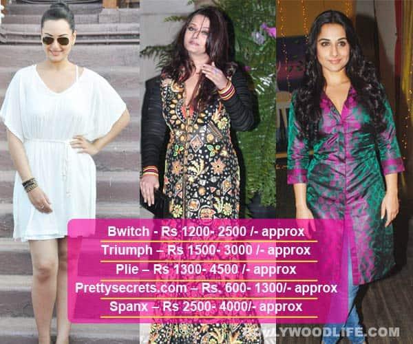 Do Sonakshi Sinha, Aishwarya Rai Bachchan, Vidya Balan useshapewear?
