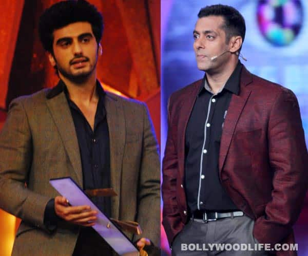 Arjun Kapoor dedicates his award to Salman Khan