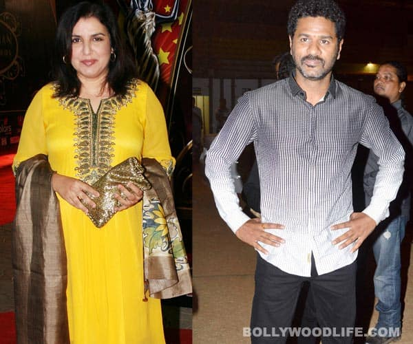 Farah Khan beat Prabhu Deva as the face of IPL